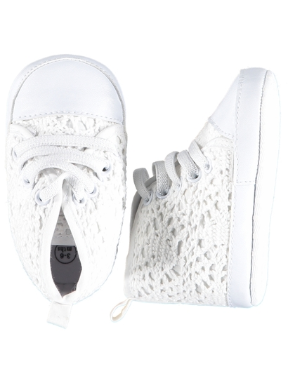 Baby Girl Soft Sole High Top