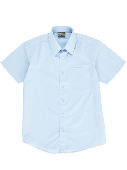 SKY BLUE BOYS PREMIUM SHORT SLEEVE SHIRT