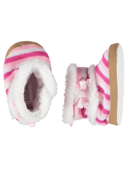 Baby Girl Sole Soft Slipper Boot