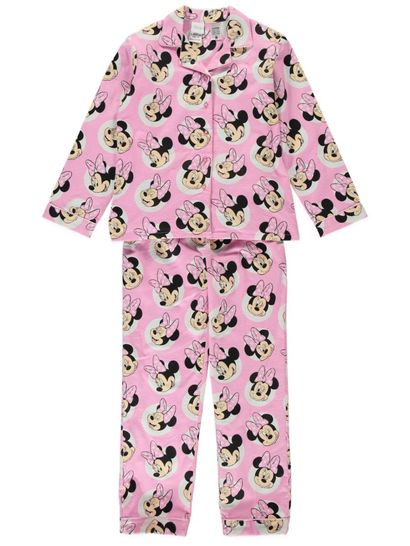 Girls Minnie Pyjama Set