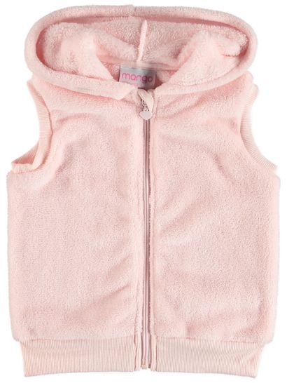 Toddler Girls Coral Fleece Vest