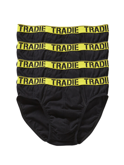 MENS TRADIE 4 PACK BRIEF