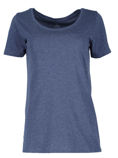 Plus Organic Blend Scoop Neck Tee Womens