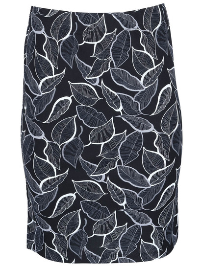 Women Tube Print Skirt