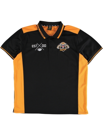 Mens Nrl Mesh Polo Shirt