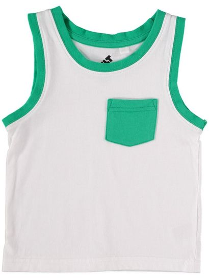 Boys Mix N Match Pocket Tank