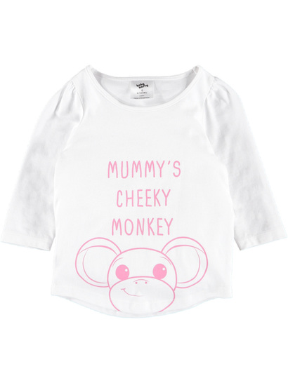 Baby Long Sleeve Print Shirt