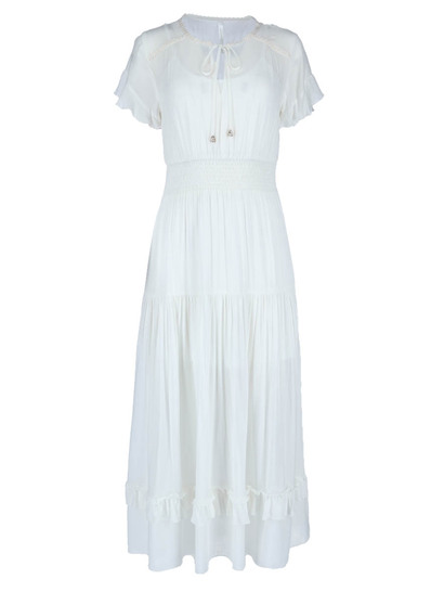 Miss Mango Frill Maxi Dress