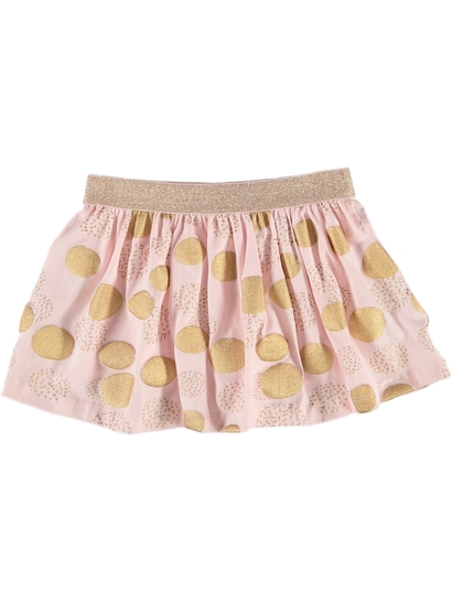 Toddler Girls Foil Skort
