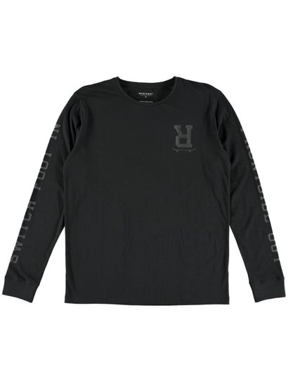 Mens Ls Printed Tee