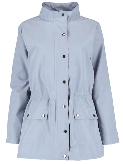Plus Lightweight Twill Jacket Womens