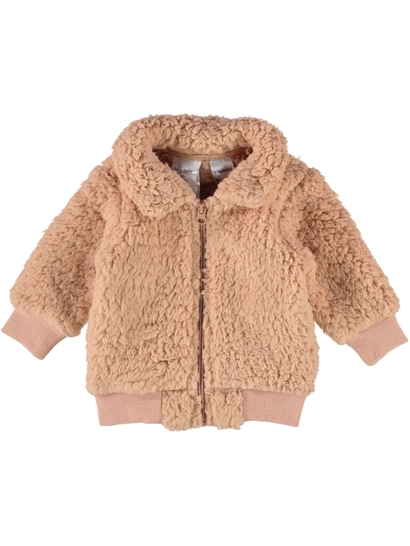 BABY TEDDY BOMBER JACKET