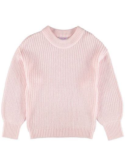 Girls Volume Sleeve Jumper