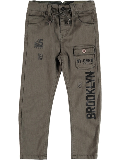 Toddler Boy Drill Pant