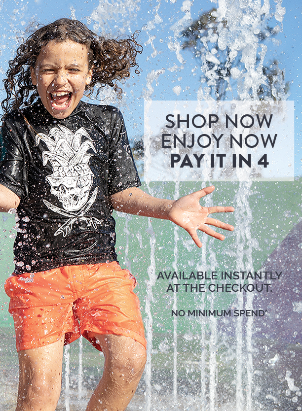 Afterpay. Shop now. Enjoy now. Pay it in 4.