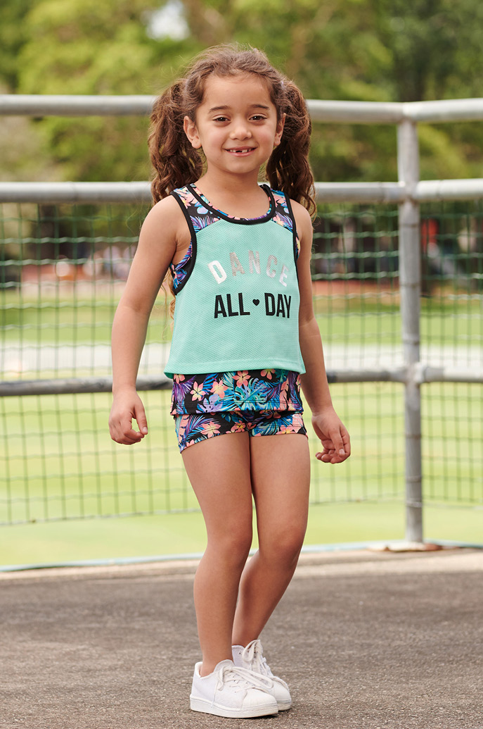Girls' 0-6 activewear