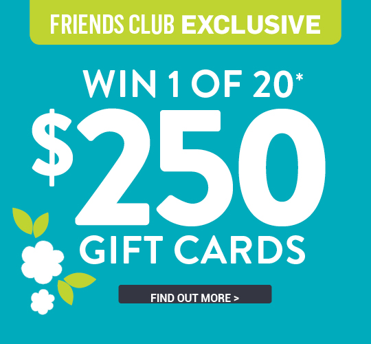 WIN 1 OF 20 $250 BEST&LESS GIFT CARDS