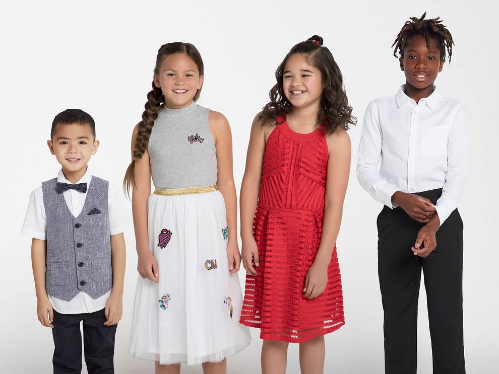 Kids 0-16 party outfits