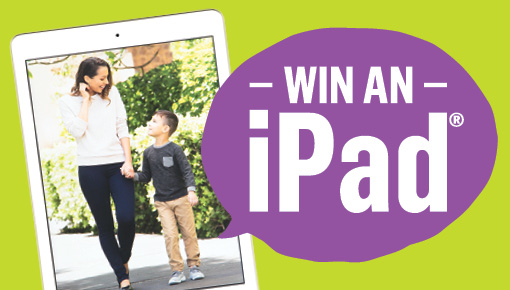Win 1 of 10 iPads